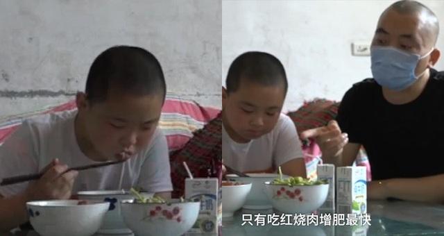 Cậu bé 11 tuổi tình nguyện ăn 5 bữa/ngày để tăng 15kg đủ sức hiến tuỷ cứu cha - 1