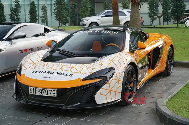 Choáng ngợp dàn siêu xe triệu đô đẹp tuyệt mỹ đổ về Hà Nội - 1