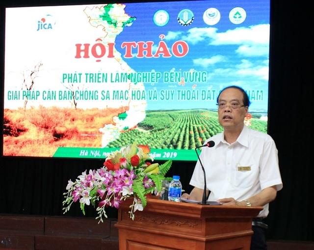 Trường ĐH Lâm Nghiệp phối hợp nghiên cứu giải quyết vấn đề chống sa mạc hóa - 3