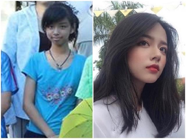 """Nữ sinh Quảng Bình """"dậy thì thành công"""" khiến dân mạng xuýt xoa - 1"""