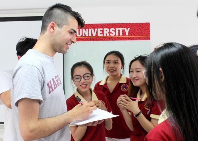 Sinh viên SIU giao lưu cùng sinh viên Đại học Harvard - 1