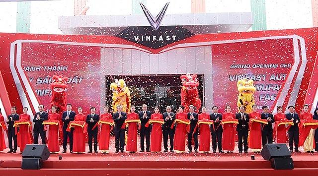 VinFast chính thức khánh thành nhà máy ôtô - 1