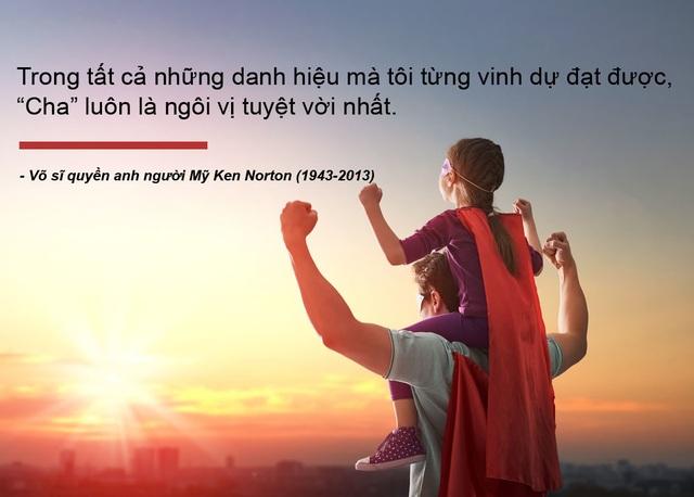 Những câu nói truyền cảm hứng về cha - 3