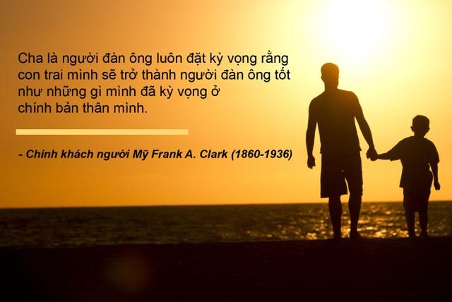 Những câu nói truyền cảm hứng về cha - 4