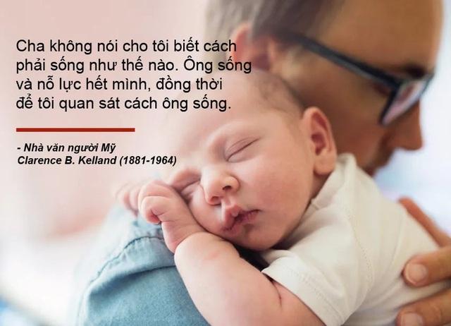 Những câu nói truyền cảm hứng về cha - 6