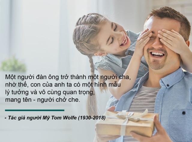 Những câu nói truyền cảm hứng về cha - 9