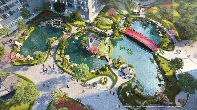 """Ra mắt căn hộ Ruby tại """"thành phố biển hồ"""" Vinhomes Ocean Park - 1"""