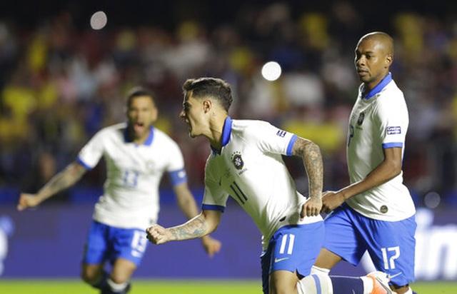 Brazil 3-0 Bolivia: Coutinho lập cú đúp, siêu phẩm của Everton - 5