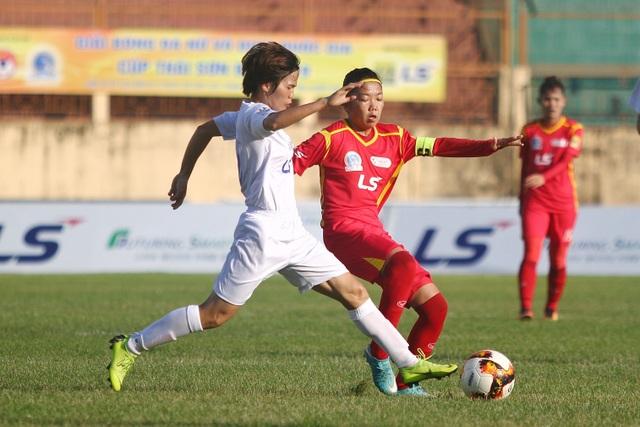 Hà Nội chia điểm với TPHCM tại giải bóng đá nữ vô địch quốc gia 2019 - 1