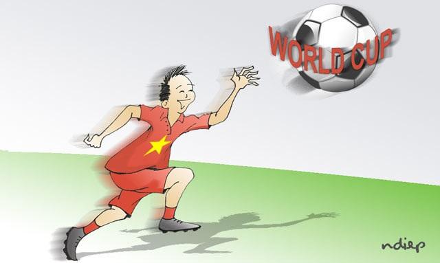 Bóng đá Việt Nam: World Cup tuy xa mà gần - 1