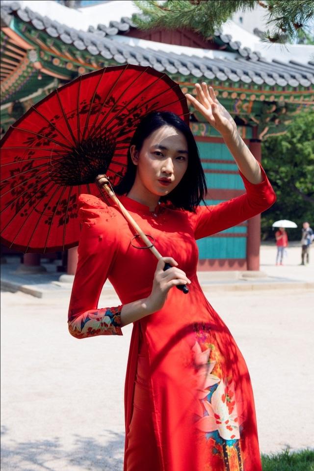Áo dài Việt Nam nổi bật tại Tuần lễ ASEAN 2019 - 8