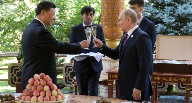 Ông Putin tặng kem cho ông Tập nhân dịp sinh nhật - 1