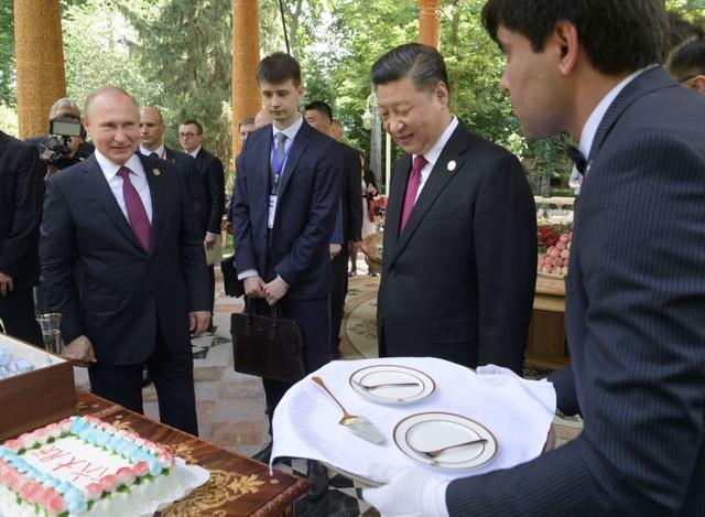 Ông Putin tặng kem cho ông Tập nhân dịp sinh nhật - 2