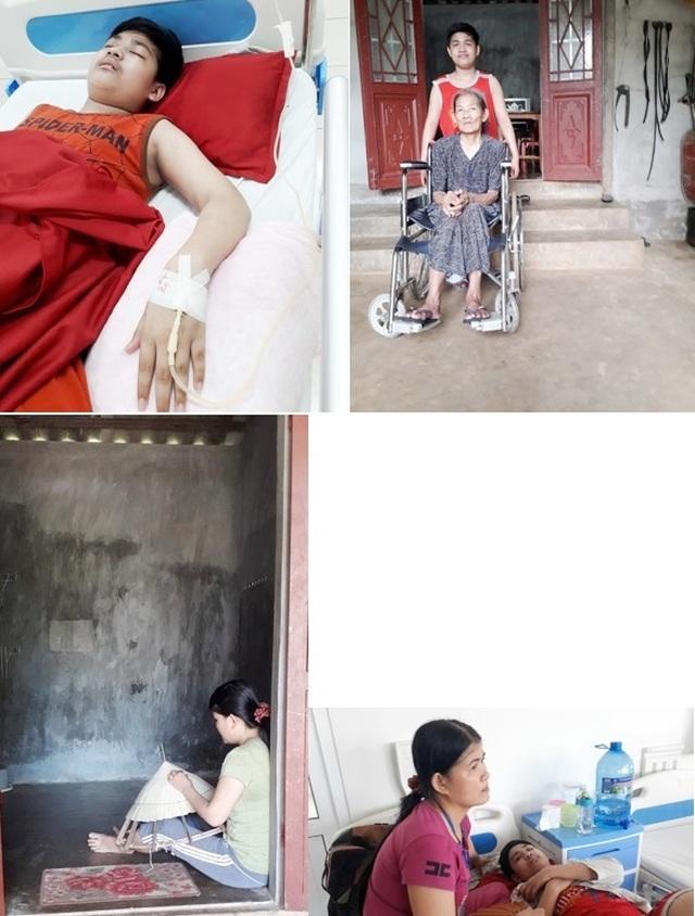 Xót xa cảnh người phụ nữ nghèo đan nón kiếm từng đồng bạc lẻ để chăm con bệnh trọng - 9