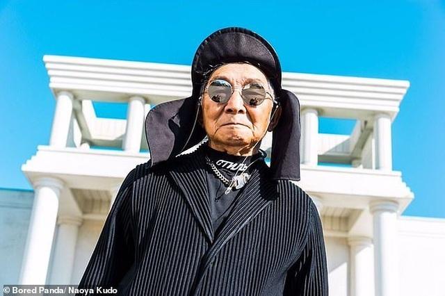 """Ông cụ 84 tuổi gây sốt trên mạng xã hội vì phong cách thời trang """"độc, lạ"""" - 7"""