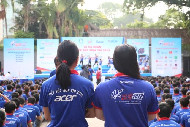 Giới trẻ Sài Gòn hào hứng ngày bắt đầu Tiếp sức mùa thi - 3