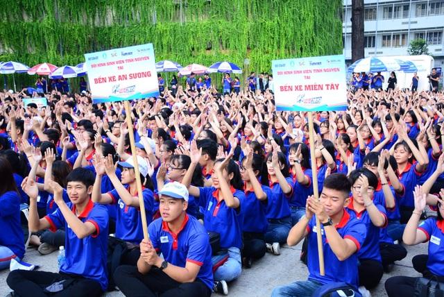 TP.HCM: Gần 20.000 sinh viên tình nguyện ra quân Tiếp sức mùa thi năm 2019 - 3