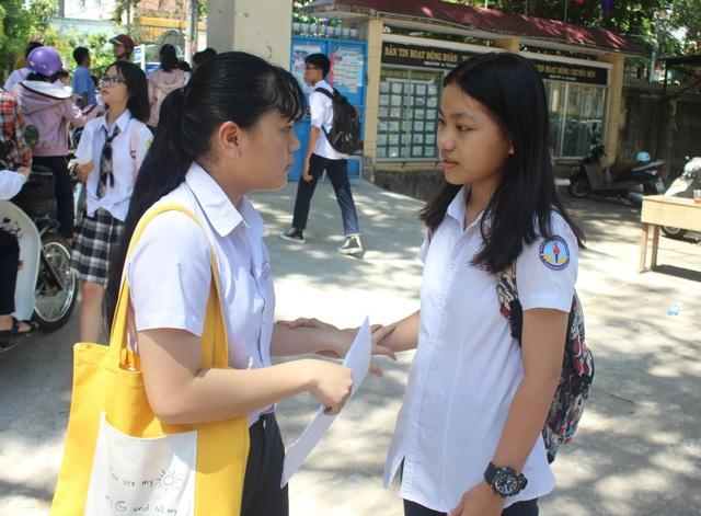 Thí sinh thi vào lớp 10 ở Phú Yên có thể nộp đơn phúc khảo từ hôm nay - 1