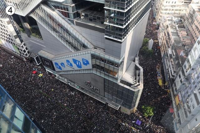 Gần 2 triệu người xuống đường biểu tình, lãnh đạo Hong Kong xin lỗi người dân - 4