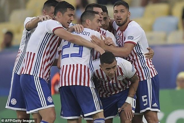 Paraguay 2-2 Qatar: Nhà vô địch châu Á ngược dòng ngoạn mục - 1