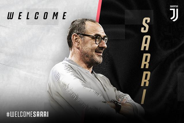 Chia tay Chelsea, HLV Sarri chính thức dẫn dắt Juventus - 1