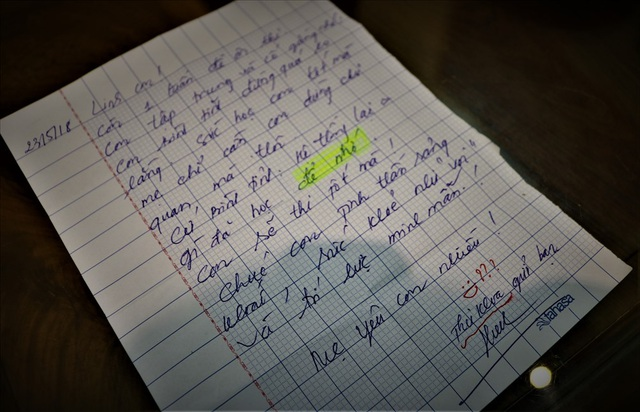Lá thư của người mẹ gửi thủ khoa lớp 10 trước ngày thi - 2