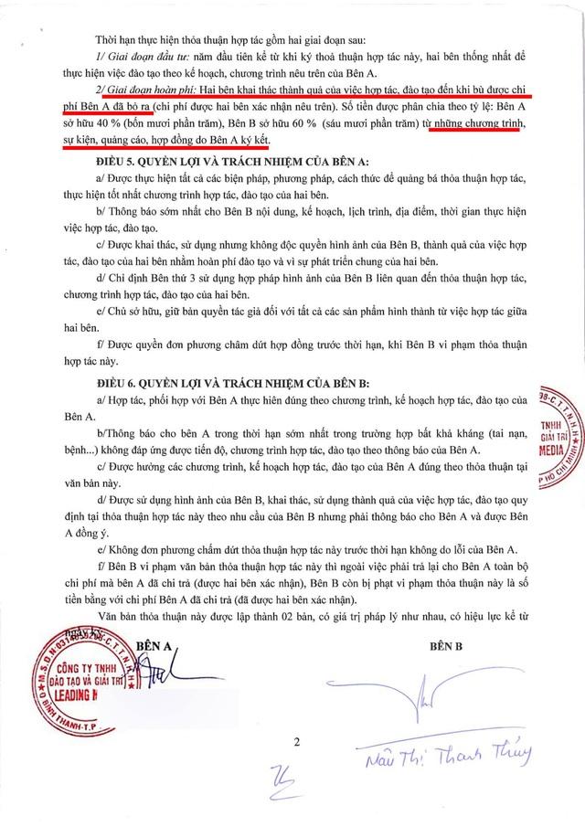 """""""Trùm Hoa hậu"""" Phúc Nguyễn tung hợp đồng chứng minh Mâu Thuỷ bịa chuyện, tiết lộ sốc về Phương Khánh - 5"""