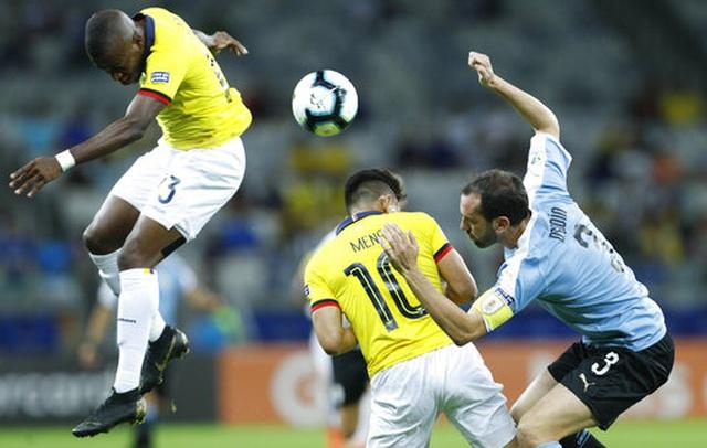 Suarez, Cavani lập công, Uruguay đại thắng 4-0 Ecuador - 6