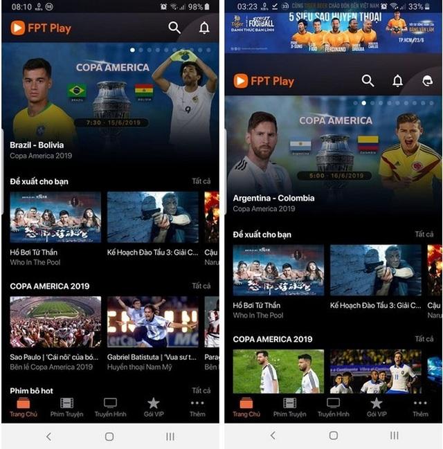 Hướng dẫn xem trực tiếp các trận đấu tại Copa America 2019 trên smartphone và máy tính - 1