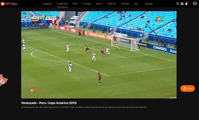 Hướng dẫn xem trực tiếp các trận đấu tại Copa America 2019 trên smartphone và máy tính - 4