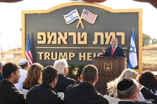 Israel công bố Cao nguyên Trump, cảm ơn Mỹ công nhận cao nguyên Golan - 1