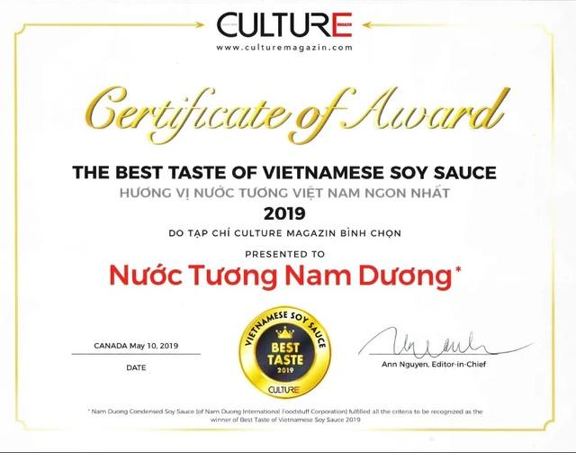 """Đã tìm được """"Hương vị nước tương Việt Nam ngon nhất năm 2019"""" - 3"""