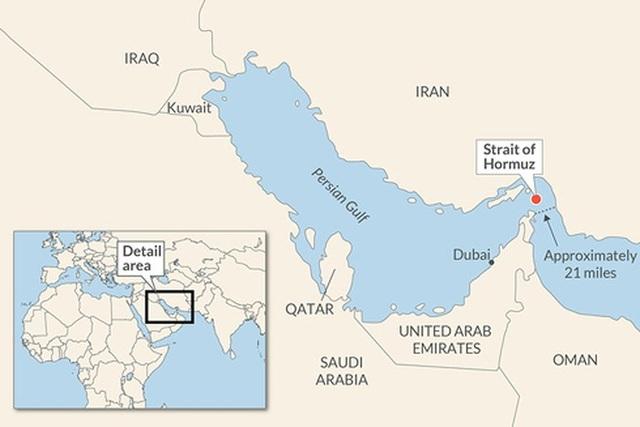 Điều gì xảy ra khi Eo biển Hormuz - yết hầu dầu mỏ thế giới bị bóp nghẹt? - 1
