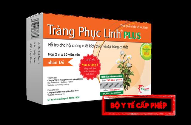 Thực hư công dụng hỗ trợ điều trị hội chứng ruột kích thích của Tràng Phục Linh Plus - 4