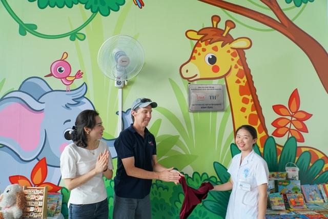 Khánh thành phòng chơi trẻ em tại Trung tâm Tim mạch - Bệnh viện Nhi Trung ương - 1