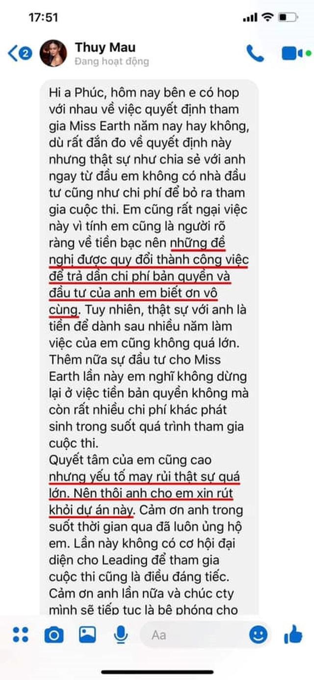 """""""Trùm Hoa hậu"""" Phúc Nguyễn tung hợp đồng chứng minh Mâu Thuỷ bịa chuyện, tiết lộ sốc về Phương Khánh - 2"""