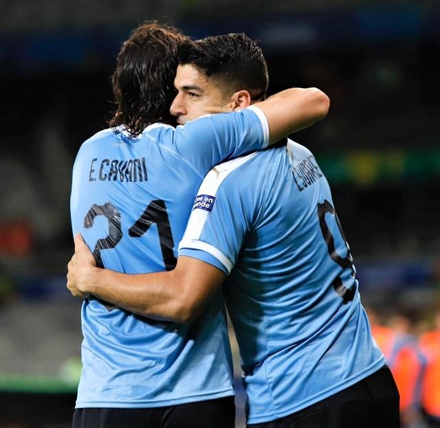 Suarez, Cavani lập công, Uruguay đại thắng 4-0 Ecuador - 2