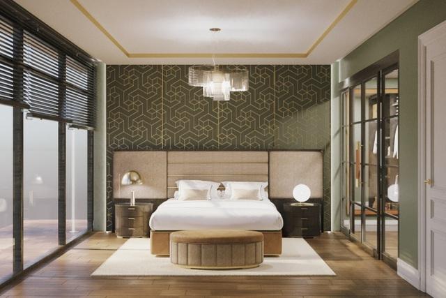 Thiết kế phòng ngủ Italia, điểm nhấn của Vinmus tại Vietbuild 2019 - 2