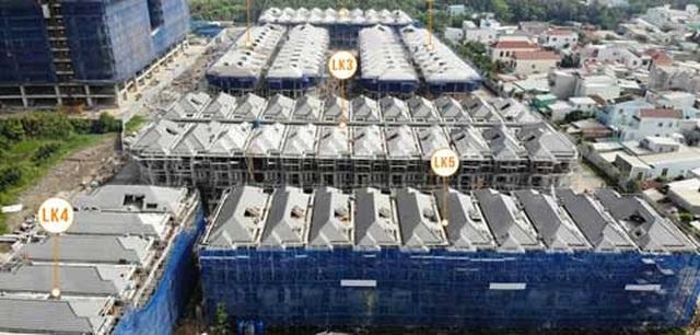 110 biệt thự xây lụi tại khu nhà giàu Sài Gòn: Chủ đầu tư nói dự án được miễn phép - 1