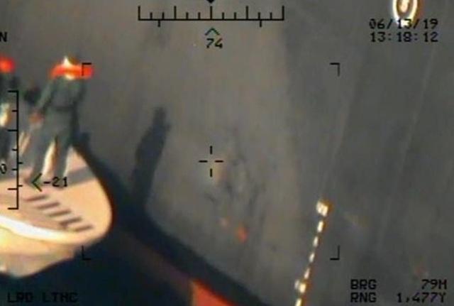"""Mỹ công bố bằng chứng mới """"tố"""" Iran tấn công tàu dầu tại vịnh Oman - 5"""