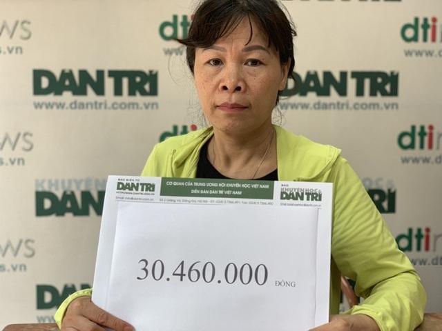Bạn đọc tiếp tục giúp đỡ gia đình chị lao công bị xe tông tử vong số tiền hơn 30 triệu đồng - 5