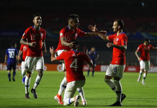 Nhật Bản thua tan nát trước nhà vô địch Chile - 3