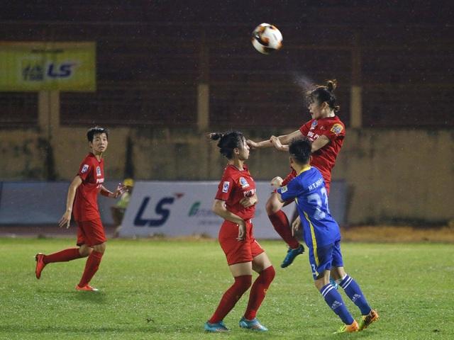 Phong Phú Hà Nam hoà hú vía tại giải bóng đá nữ vô địch quốc gia 2019 - 1