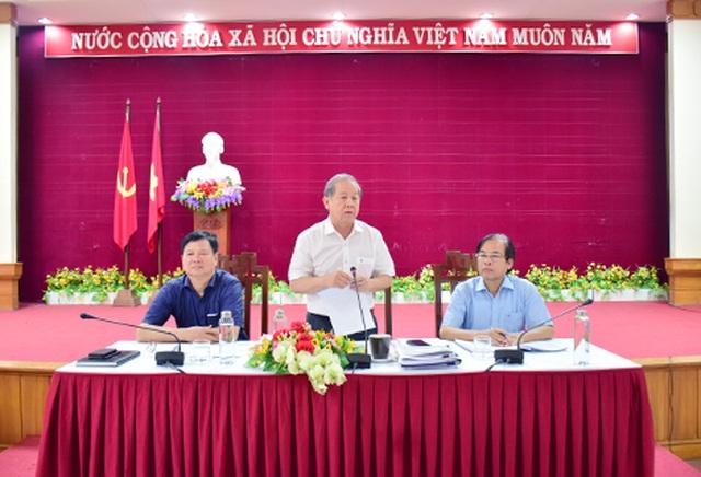 Chủ tịch tỉnh Thừa Thiên Huế: Tạo điều kiện tốt nhất cho thí sinh thi THPT quốc gia - 1