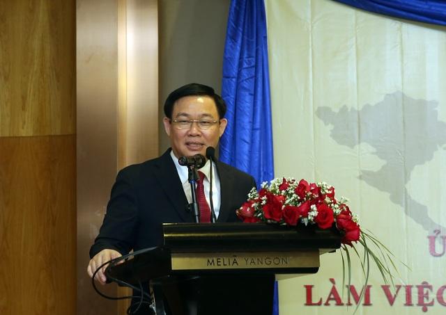"""Phó Thủ tướng muốn doanh nghiệp Việt """"cắm chốt"""" tại thủ phủ kinh tế lớn nhất Myanmar - 2"""
