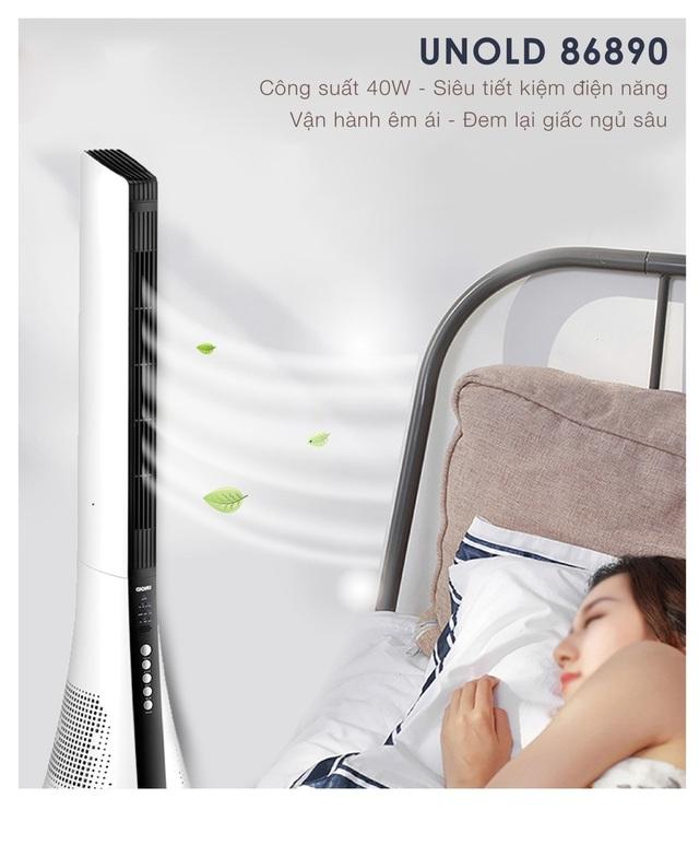 Quạt tháp lọc không khí Unold 86890: Giải pháp làm mát tuyệt vời cho người mắc bệnh về đường hô hấp - 2