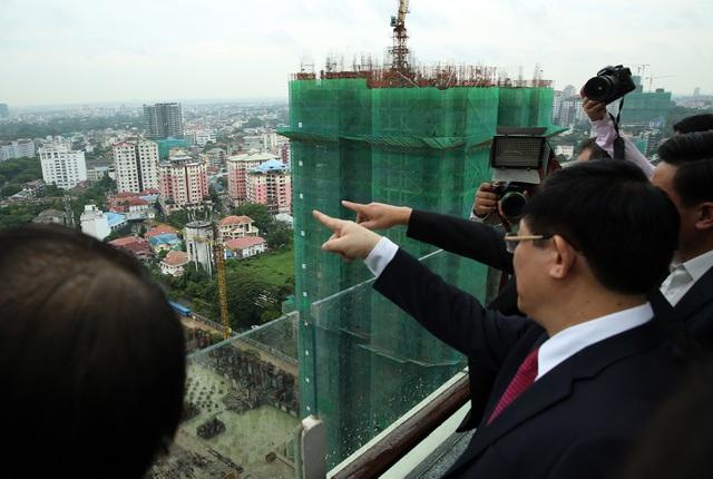 """Phó Thủ tướng muốn doanh nghiệp Việt """"cắm chốt"""" tại thủ phủ kinh tế lớn nhất Myanmar - 3"""