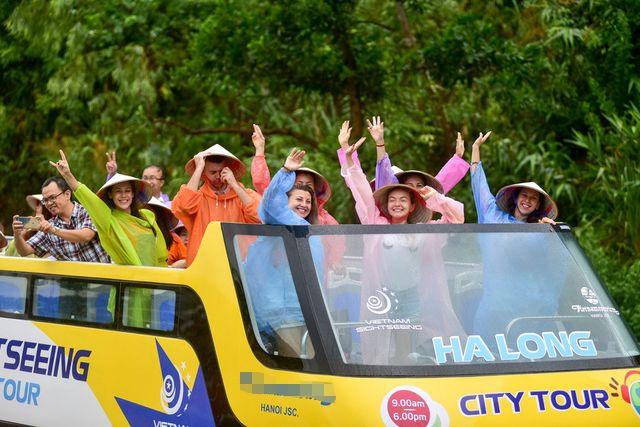 Hạ Long có thêm city tour bằng xe buýt 2 tầng - 2
