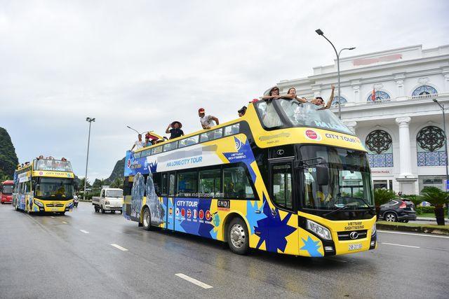 Hạ Long có thêm city tour bằng xe buýt 2 tầng - 1