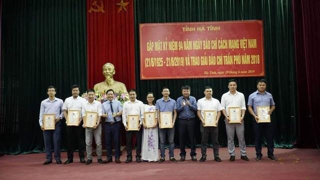 Phóng viên báo Dân trí đoạt giải B giải báo chí Trần Phú - 1